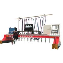 Máquina de corte CNC de línea recta tipo pórtico