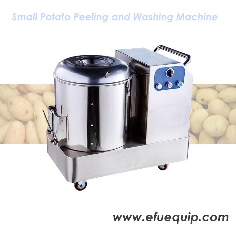 Potato Peeling And Washing Machine