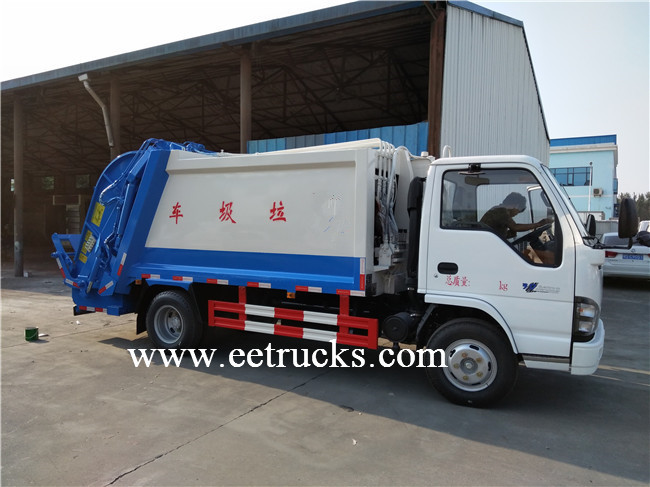 15 Ton Waste Compression Trucks