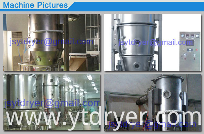 Fluidized Drying Granulator