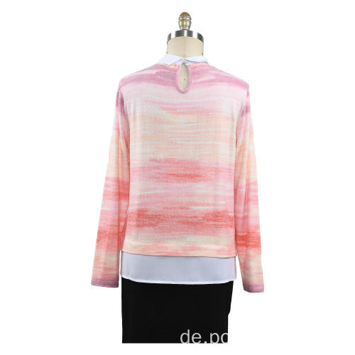 New Women Spring Autumn Shirt Strickpullover