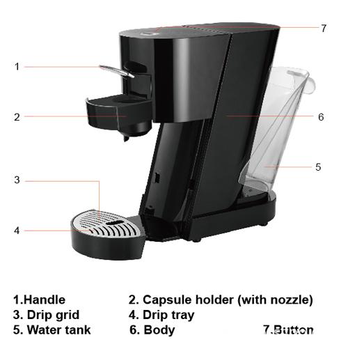 CN-U capsule coffee machine (2)