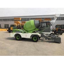3.2 cubic meters concrete mixer truck