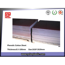 Brown Color Cloth Laminated Textolite Sheet