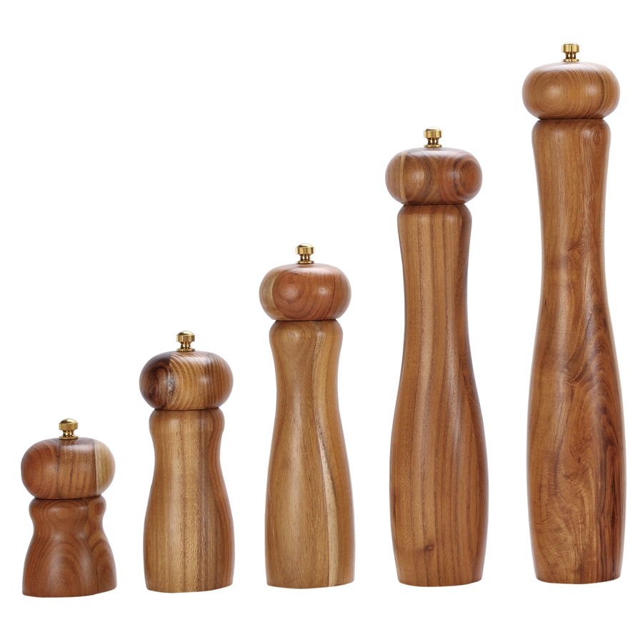 Wooden Salt And Pepper Grinders