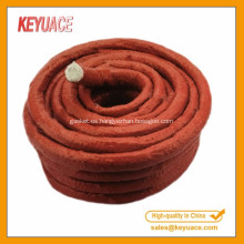 Color rojo para cuerda de fibra de vidrio de caucho de silicona