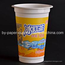 Copos de plástico por atacado para bebidas frias