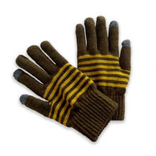 Factory Sale Various Outdoor Cheap Knit Mittens Winter Knitted Gloves For Adults