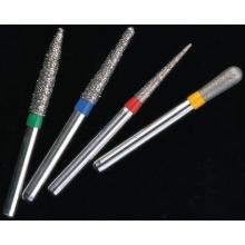Clinical Diamond Burs for Dental Use