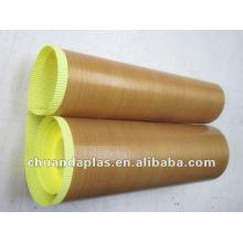 Single Side Coated PTFE Fiberglass Fabric with RoHS Certificate