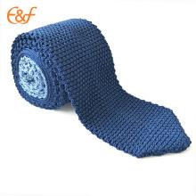 Cravates Triangle Loisirs Tricoté Cravate Slim Corner étroite