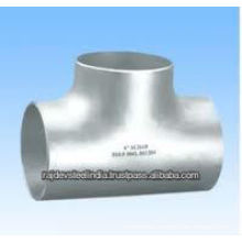 304 Stainless Steel Pipe fitting Equal Tee
