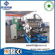 Plaque de métal plaque de roulement rollform fabrication machine UNOVO