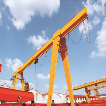 Single Girder Gantry Crane na may Electric Hoist