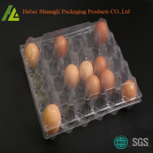 30 Compartments Plastic Eggs PET Tray