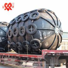 Fabriqué en Chine de haute qualité de l'amortisseur en caoutchouc gonflable utilisé pour expédier à expédier ou à quai