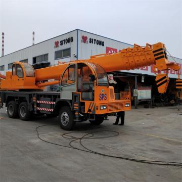 STSQ25D 25 Ton Mobile Hydraulic Truck Mounted Crane