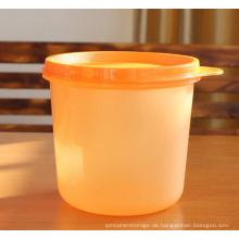 Geringen Größe 0,65 L Kunststoff Vorratsgefäß