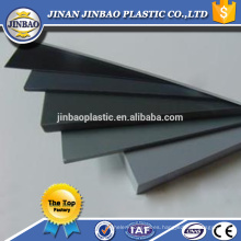 material de construcción 5mm 8mm lámina de pvc duro láminas de plástico blanco