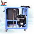 Plastic 3hp Small Water Cooled Water Chiller