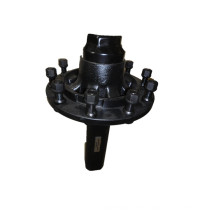 Trailer Axle-Stub Axle Spoke Spider Hub Used Trailer Parts with ISO stud from Factory Direct