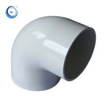 Chinese supplier 90 degree elbow plastic PVC fitting water pipe