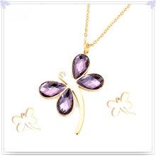 Accesorios de moda joyería de acero inoxidable conjunto (js0081)