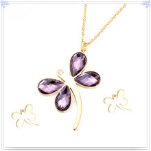 Fashion Accessories Stainless Steel Jewelry Set (JS0081)