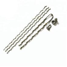 Ensembles de pinces de tension à l'extrémité sans fin liés à un câble à fibres optiques