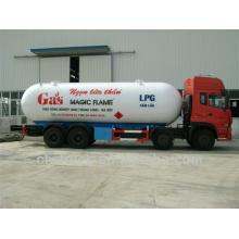 34.5m3 Dongfeng Tianlong 8 * 4 caminhão do tanque de gás LPG