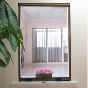 Aluminium roller windows with mosquito net