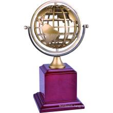 OEM/ODM 3D Metal and Wood Trophy