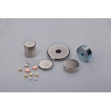 Дисковый магнит с различными покрытиями