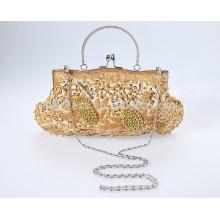 2015 New Design Shine Beading With Detachable Straps Evening bag/Bride Bag For Wedding /Eviening Party Bag BB02 Handbag Lady