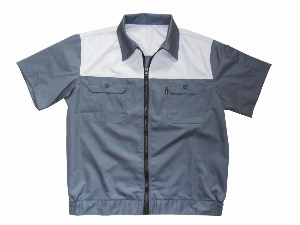 Work Wear With Short Sleeves