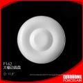 assiette creuse de Chaozhou usine porcelaine céramique gros hôtel