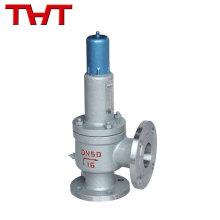 Spring loaded flanged safety valve