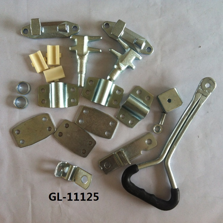 Cargo Trailer Door Bar Latch Lock