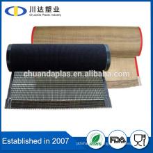 Textile Manufacturing Use PTFE Teflon Coated Glass Fabrics open mesh conveyor belt                                                                         Quality Choice