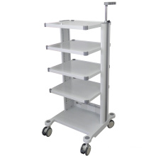 Manufacturer Hospital ABS Medical Mobile Medication Changing Patient Nuring Trolley/Treatment Trolley Size Customized