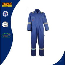 Blaue Baumwolle feuerhemmende Reflcective Sicherheit Workwear Coverall