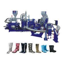 Máquina para hacer zapatos de Gumboots de Corea