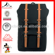Moda 16 oz lona cáqui mochila americana, saco de mochila, mochila mochila HCB0040