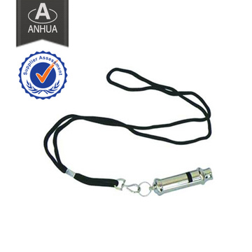 High Quality Police Metal Whistle with String