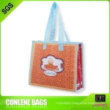 Laminated PP Woven Shopper Bag (KLY-PP-0191)