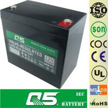 12V55AH Bateria de profundidade Bateria de chumbo Bateria de descarga profunda