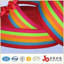 Banda elástica del fabricante tejida que hace punto cinta elástica