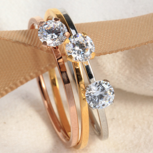 simple design diamond ring