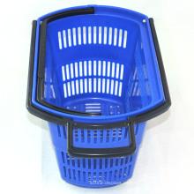 Cesta plástica de la compra de la tienda de ultramarinos del supermercado del balanceo de Wholsale