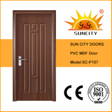 Surface Finishing and Swing Open Style Toilet PVC Door (SC-P107)